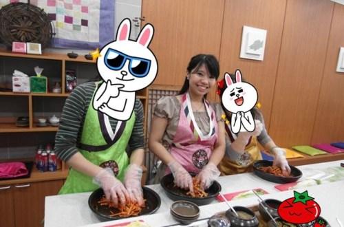 韓國、首爾|韓國飲食必備小菜~「明洞」韓式泡菜製作課程與韓服體驗