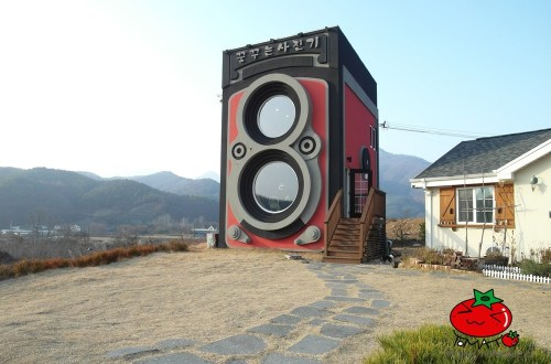 韓國、京畿|被票選一定要去一趟的特色咖啡館,「龍門」的作夢相機咖啡館