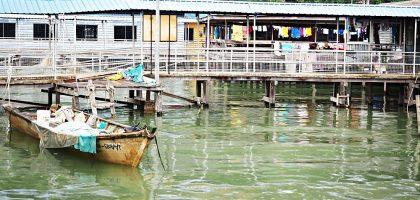 馬亞西亞、沙巴|山打根森森水上人家 第八橋海鮮美味新鮮上桌Sim Sim Water Village