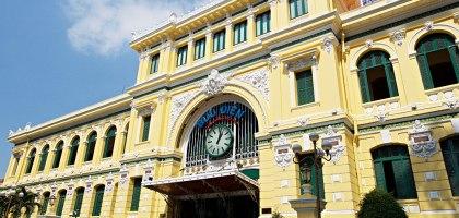 越南、胡志明市 胡志明市中心郵政局–在越南遇見百年歷史的法國郵局