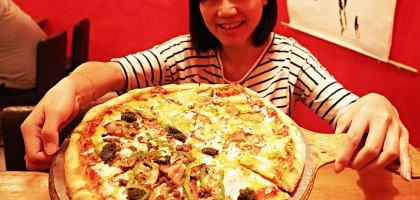 台東|披薩阿伯Uncle Pete's Pizza.14吋大份量披薩實在過癮