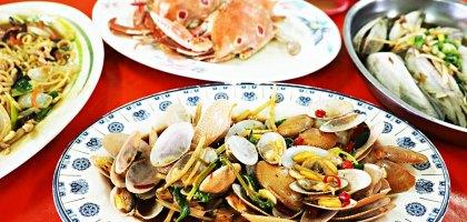 花蓮、觀光漁港 祥清海產.現撈的海洋美味