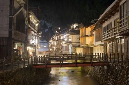 日本、山形|銀山溫泉各家旅館整理