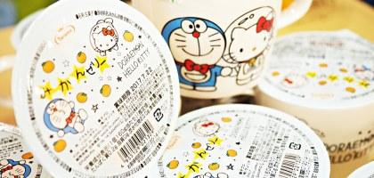日本全家限定!哆啦A夢&Hello Kitty聯名馬克杯