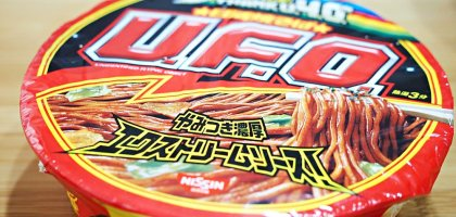 日本泡麵UFO 每次看到都會買的炒泡麵