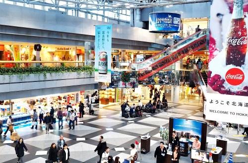 札幌新千歲機場國內線|這機場很恐怖,膽小的人別亂入!