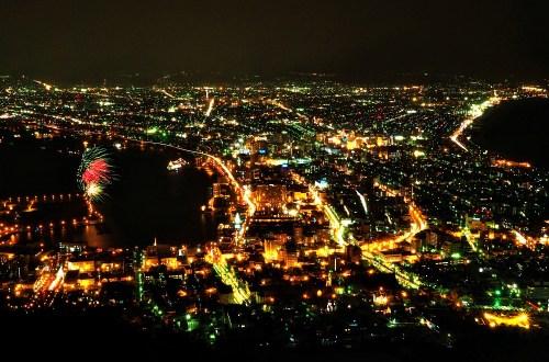 北海道函館山夜景|這不只是百萬夜景.也是心願的達成