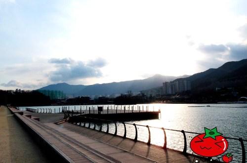搭韓國首條單軌鐵線路.遊覽大邱壽城池好愜意