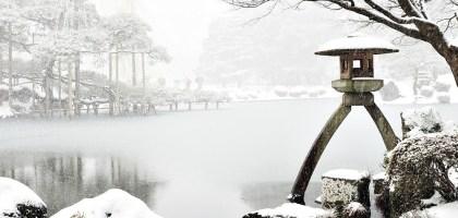 石川、金澤 兼六園雪景.想與你牽手漫步在詩情畫意裡