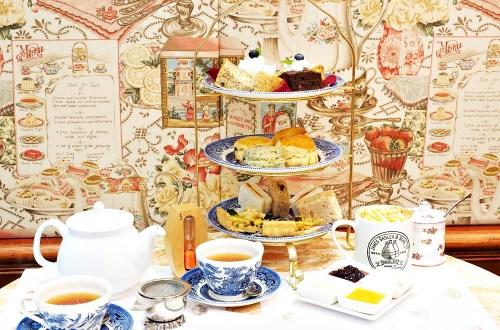 英國茶館|天母大葉高島屋二樓.不受時間限制的幸福英式下午茶