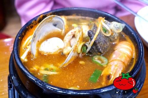 濟州島|清魚林청어림海鮮砂鍋、白帶魚套餐.濟州市區的海鮮好滋味