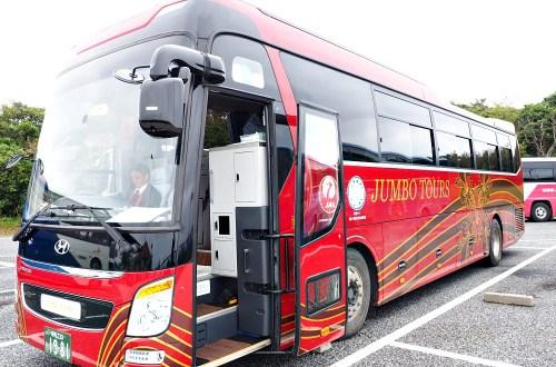 沖繩|Hip-Hop觀光巴士.暢遊萬座毛、古宇利島、美海水族館、備瀨福木林道、御菓子御殿