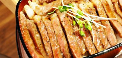 梅田、大阪站 ビフテキ重・肉飯ロマン亭.肉舖直營和牛丼飯超過癮
