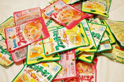 軟糖控注意!Fettuccine軟糖.日本必買的檸檬與水蜜桃軟糖