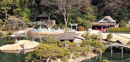 日本、岡山|後樂園、岡山城.米其林三星的放空之旅