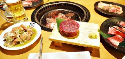 北海道|小樽牛角炭火燒肉.冰冷的雪夜還是燒肉最暖心