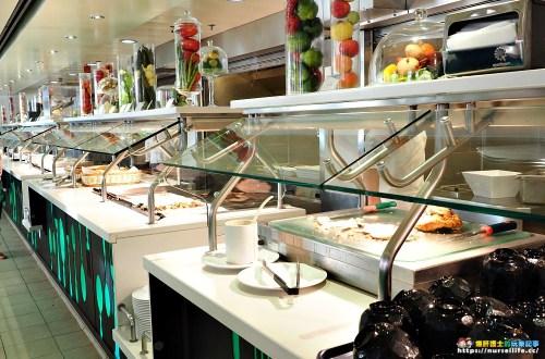 歌詩達新浪漫號|Giardino自助餐廳.免費也有高品質餐點