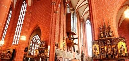 德國|法蘭克福大教堂Kaiserdom St. Bartholomäus.皇帝加冕用的天主教堂