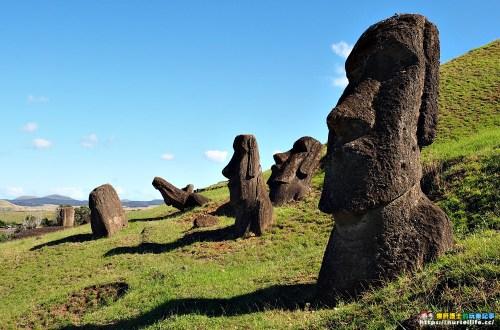 復活節島|Rano Raraku.397個摩艾帶來超過397次的感動