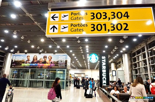 巴西聖保羅機場|不能錯過的巴西禮品店.城市杯、拖鞋、耶穌像