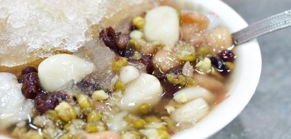 台南、中西區|八寶冰花生仁湯.赤崁樓旁的人氣冰品