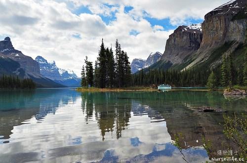 加拿大|瑪琳湖 Maligne Lake.遊船探訪精靈島
