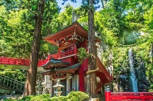 福島|中野不動尊.森林裡的除厄神社