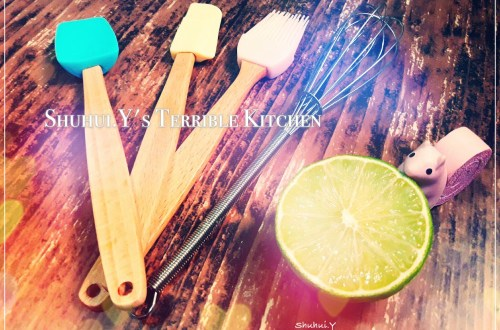 賢(嫌)妻廚房之小烤箱與鬆餅粉也能烤出檸檬好棒磅蛋糕