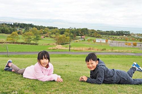 北海道|八雲噴火灣景觀公園.親子旅遊不能錯過的休息站