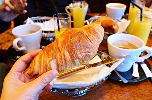 巴黎十三區Café de France.原來法國傳統的早餐都這樣吃
