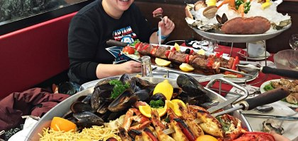 Pedra Alta Bercy.巴黎吃到流淚的平價大份量海鮮餐廳