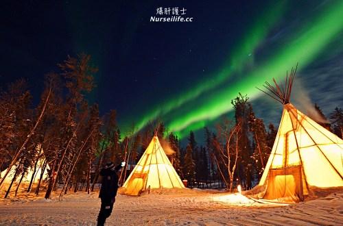 加拿大黃刀鎮追極光|極光爆發到讓你可以無限自拍.白天還能體驗大奴湖冰釣