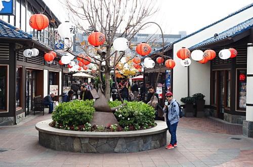 美國、加州|洛杉磯Little Tokyo 小東京.想吃大阪燒、拉麵、迴轉壽司就來這