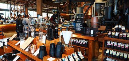 美國、華盛頓州|全球第一家西雅圖星巴克典藏咖啡店 Starbucks Reserve Roastery