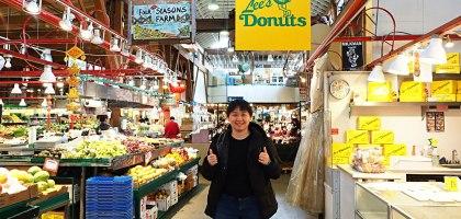 加拿大、溫哥華 Granville Island.固蘭島市集必買Lee's Donuts