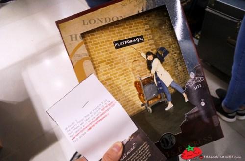 英國、倫敦|King's Cross Station 國王十字車站的九又四分之三月台.哈利波特我來了!