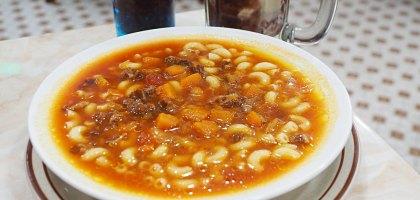 澳門喜蓮咖啡麵食|融入葡國餐飲的道地街坊食物.牛尾湯通粉、干免治牛肉飯、紅豆冰必吃
