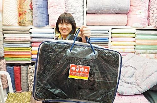 釜山|國際市場買棉被.棉花寢具打包超仔細