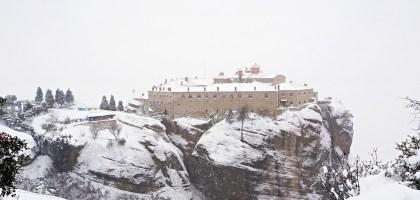 希臘|邁泰奧拉 Meteora 崖上的修道院.世界遺產天空之城