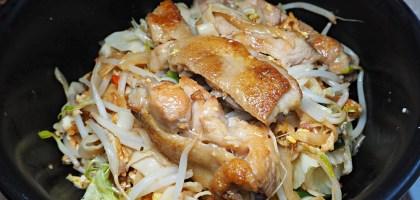 芝山捷運美食|NoodleMix禮面作.辣雞寬麵和外省酒釀蒜頭雞肉湯麵不吃不行阿!