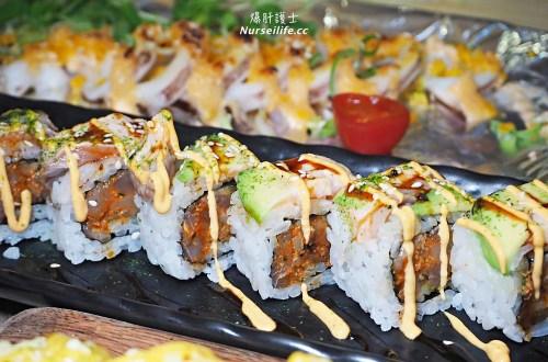 CA rolls' 新美日式料理|壽司party!今天就用美國來的加州卷來開趴聚餐吧!