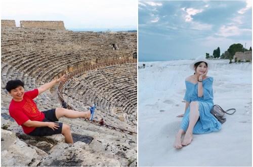 土耳其之旅|帕穆卡麗棉堡與希拉波利斯古城 Pamukkale.人生必來的景點沒有之一