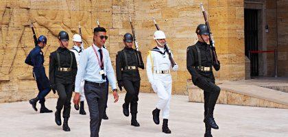 土耳其 來了凱莫爾陵寢 Anitkabir 也把心留在安卡拉了