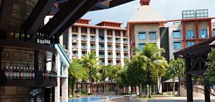 新加坡聖淘沙名勝世界 Hard Rock Hotel.音樂發燒友會愛慘的飯店
