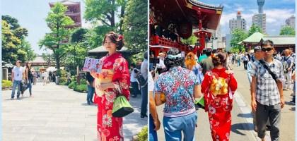 東京|觀光客必須!淺草雷門八重和服體驗