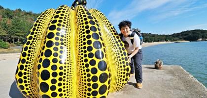 香川、直島|來去尋找草間瀰生的南瓜!一個人的跳島旅行