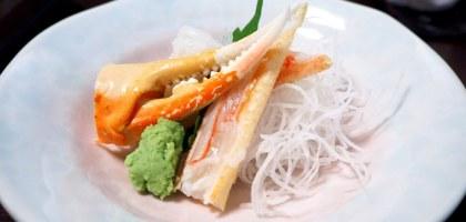 北海道|札幌冰雪之門.2000元起跳的螃蟹會席料理沒預約還吃不到!
