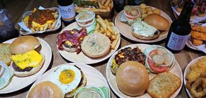 Burger O'clock.台北最邪惡美式餐廳!精選22種每日新鮮手打漢堡連宵夜都吃的到