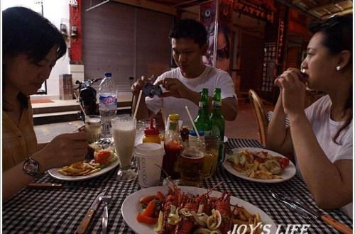 【巴里島】BAMBOO CORNER,便宜的龍蝦大餐~