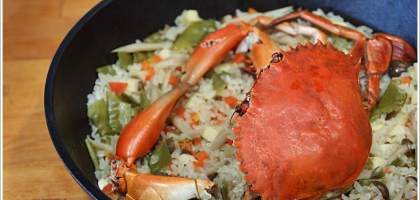 【荷蘭鍋】秋之味處女蟳炊飯